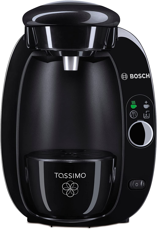 TASSIMO T20 Independiente Totalmente automática Máquina de café en cápsulas 1.5L Negro - Cafetera (Independiente, Máquina de café en cápsulas, 1,5 L, Cápsula de café, 1300 W, Negro): Amazon.es: Hogar