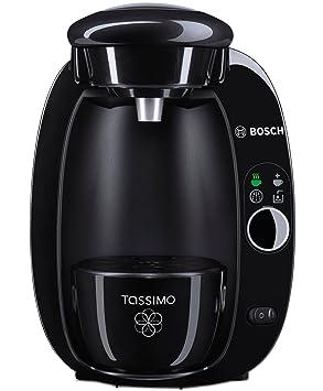 TASSIMO T20 Independiente Totalmente automática Máquina de café en cápsulas 1.5L Negro - Cafetera (