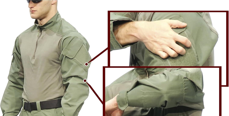 Tru-Spec Mens Combat Shirt tru Urban Force p//c r//s 1//4 Zip