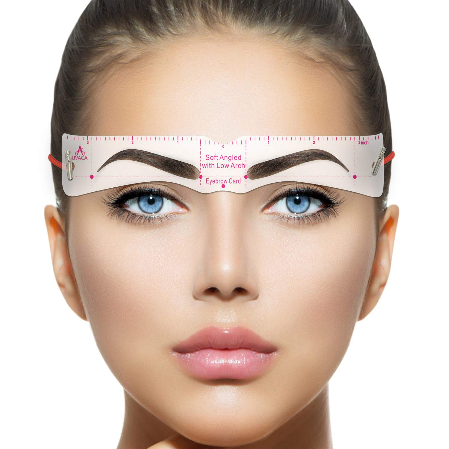 LIVACA Eyebrow Stencils, Reusable Eyebrow Template