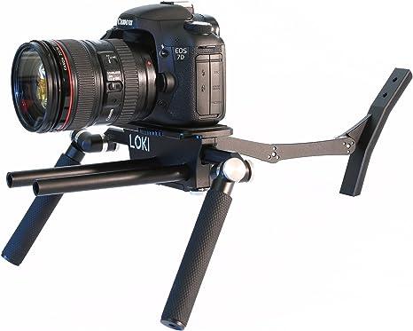 Loki una Jaula de estabilización de vídeo para cámaras réflex ...