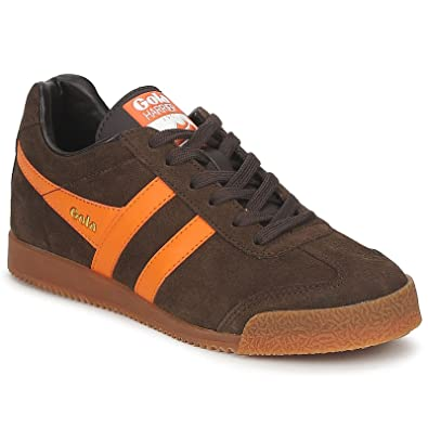 Suede Womens Brown Uk 6 Gola Size Trainers Harrier Sport Premium bfYy6g7v