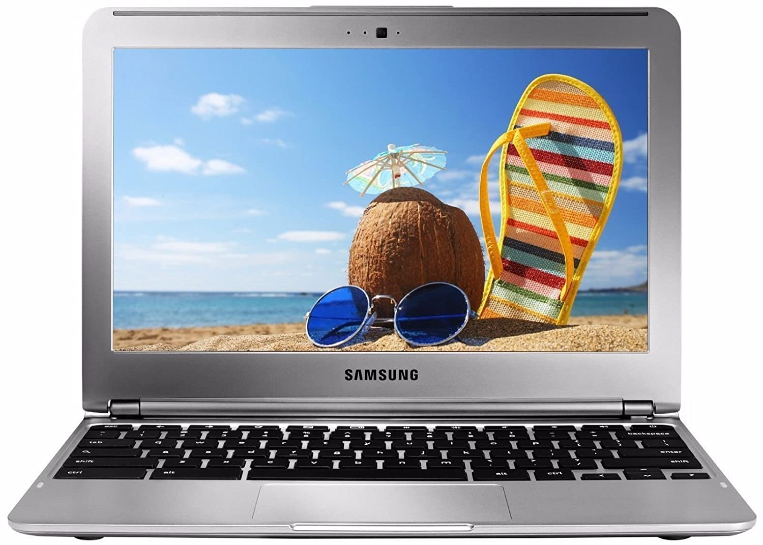 """Amazon.com: Samsung XE303C12-A01US Samsung Exynos 5250 X2 1.7GHz 2GB 16GB  SSD 11.6"""",Silver(Certified Refurbished): Computers & Accessories"""