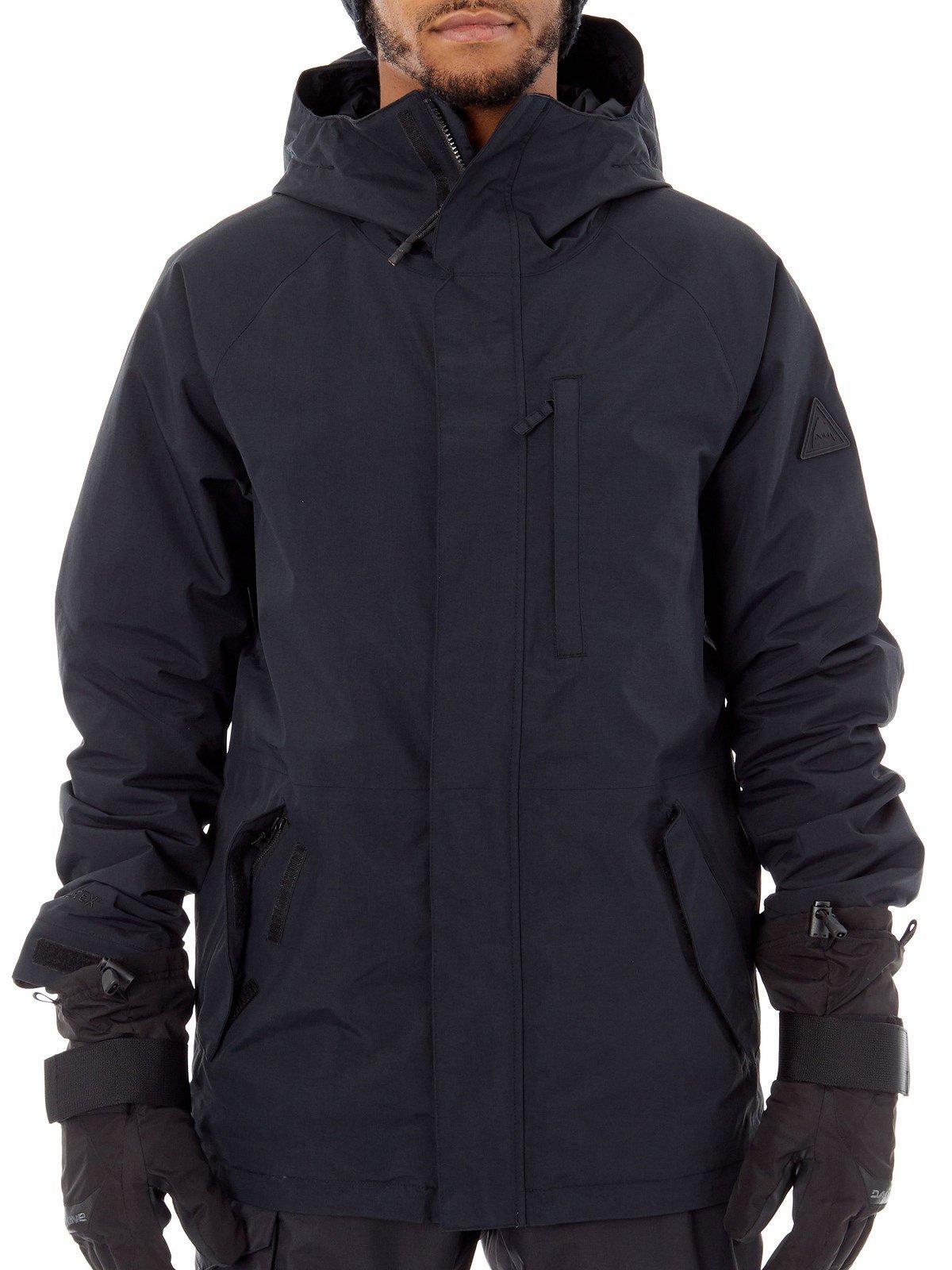 Burton Gore-Tex Radial Insulated Men's Snowboard Jacket - True Black