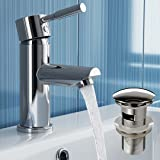 Dalton Basin Mixer Tap with Pop Up Waste