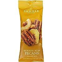 Sahale Snacks Banana Rum Pecans Glazed Mix, 1.5 Ounces (Pack of 9)