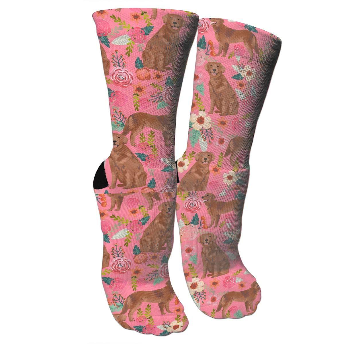 FUNINDIY Forest Nature Athletic Tube Socks Women Men High Socks Crazy Socks