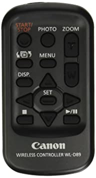 Review Canon Wireless Controller WL-D89