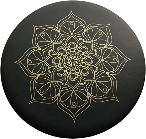 Cojín de Meditación para Yoga o Relajación Negro Mengzhifei