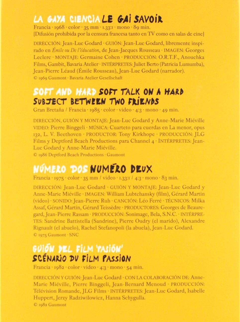 Amazon.com: Jean-Luc Godard: Ensayos (Incluye 7 Películas) [Import espagnol]: Movies & TV