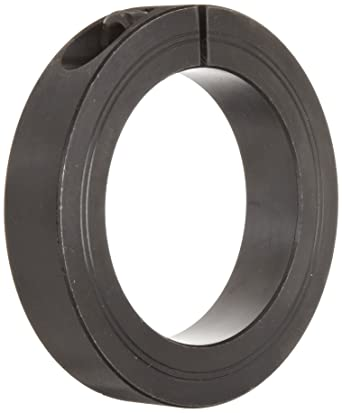 19mm Width 3-3//4 OD Climax Metal Products 3-3//4 OD Steel Climax Metal M1C-65 One-Piece Clamping Collar Metric 65mm Bore Black Oxide Plating