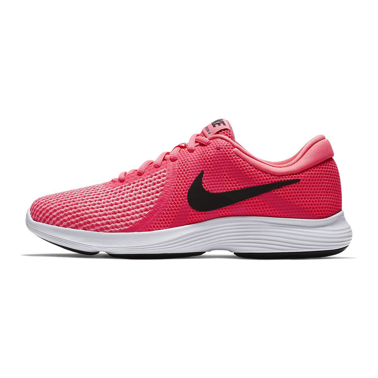 NIKE Women's Revolution 4 Running Shoe B0716QJBNQ 11 B(M) US|Racer Pink/Black Hot Punch Wht