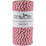 Baker' s Twine Rosso/Bianco, 100m, 2mm
