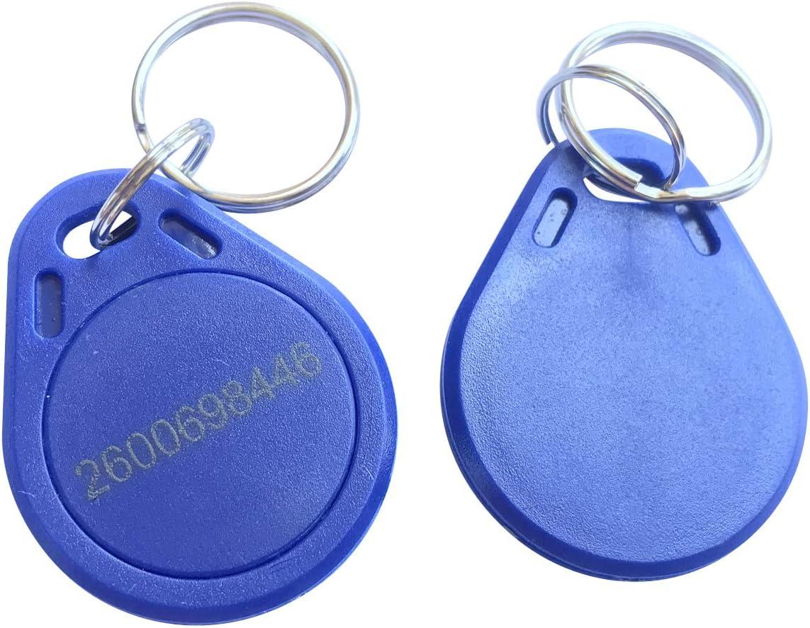 10pcs Blue YARONGTECH MIFARE Classic/® 1K RFID Key fob Tag 13.56MHZ ISO14443A