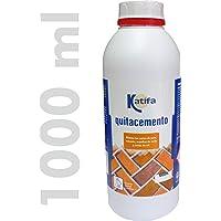 KATIFA Quitacemento Antisalitre 1000 ml. Elimina restos
