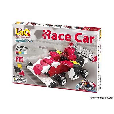 LaQ Hamacron Constructor 2 Race Car Model Building Kits: Toys & Games