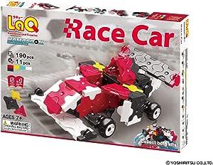 LaQ Hamacron Constructor Race CAR - 5 Models, 190 Pieces - Creative Construction Toy