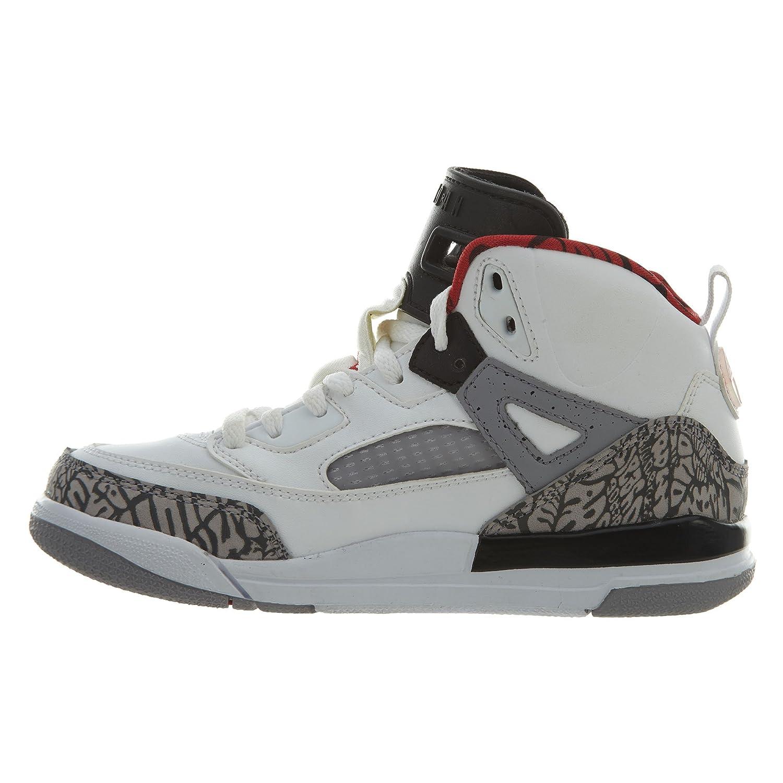 more photos 7ee00 17b8b Amazon.com   Jordan Spizike White Varsity Red-Cement Grey (Little Kid) (1y)    Sneakers