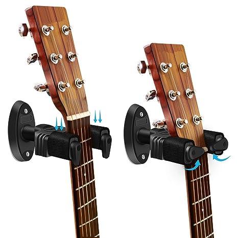 Karl Aiken - Soporte de pared para guitarra acústica eléctrica con ...