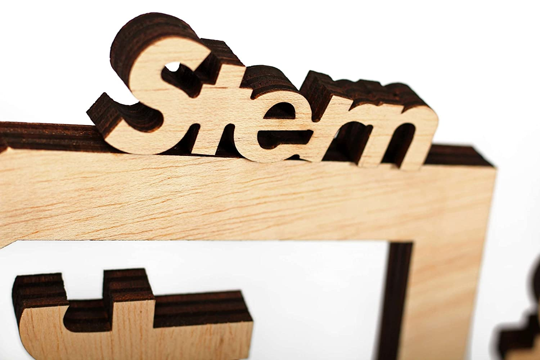 Moderne Weihnachtskrippe.Moderne Weihnachtskrippe 11 Teilig Holz Ceiba Natur Puristisch