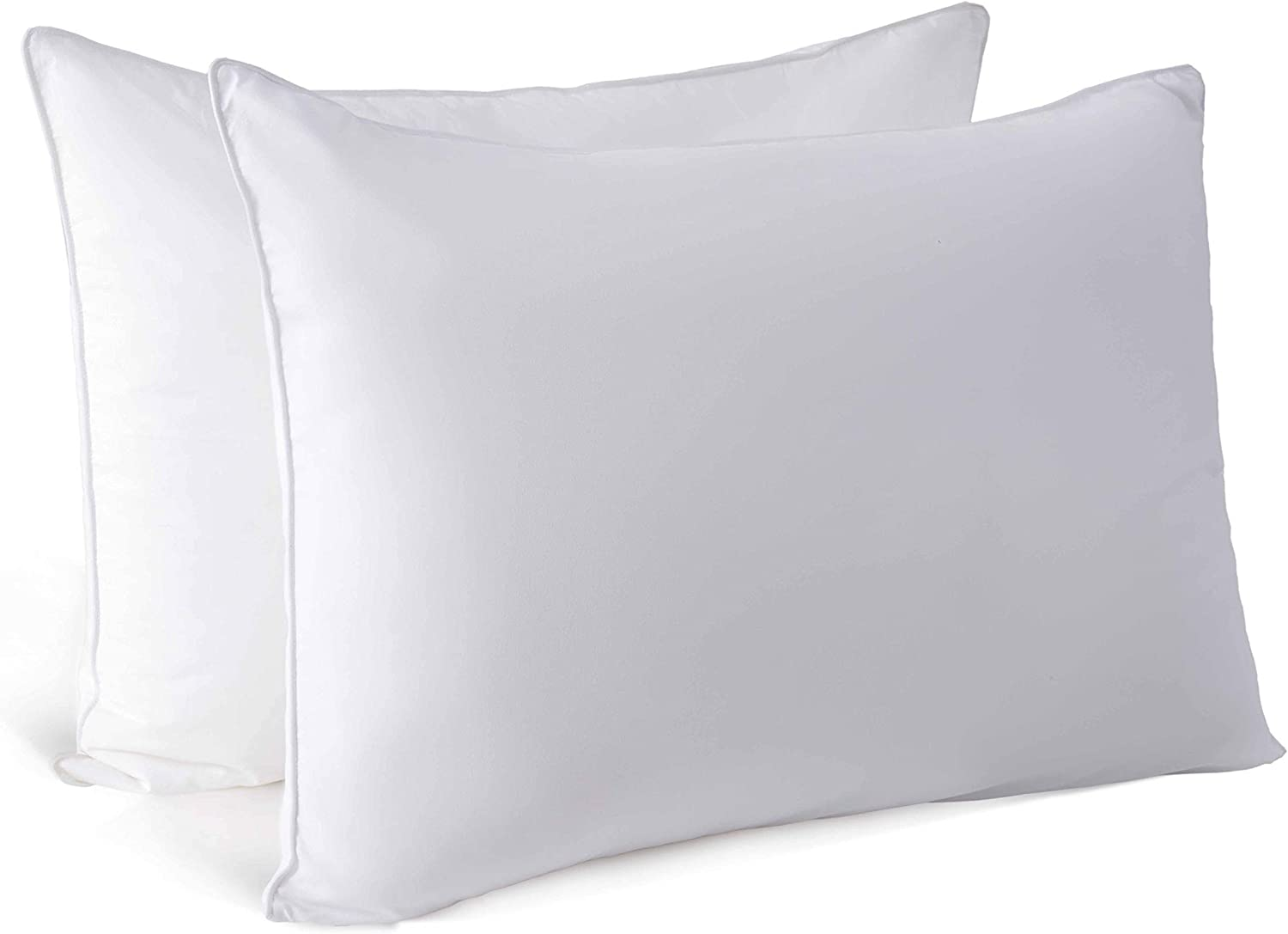 CHIXIN Bed Pillow for Sleeping | Luxury Hotel Pillows Set of 2 | Fluffy and Soft Pillows for Side and Back Sleeper | Standard, 2 Pack