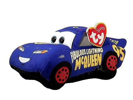Amazon.com  2017 Ty Beanie Babies Disney   Pixar CARS - FABULOUS ... c03c490fdaf