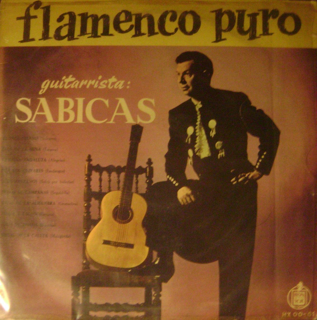 Guitarrista Sabicas, Flamenco Puro LP: SABICAS & CARMEN AMAYA ...