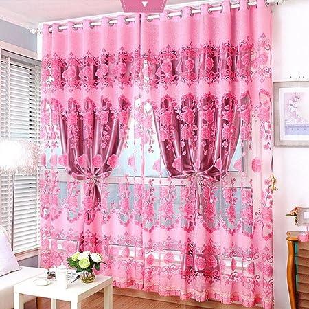 Blackout Curtains Double Decker Simple Modern Sunshade Curtain ...