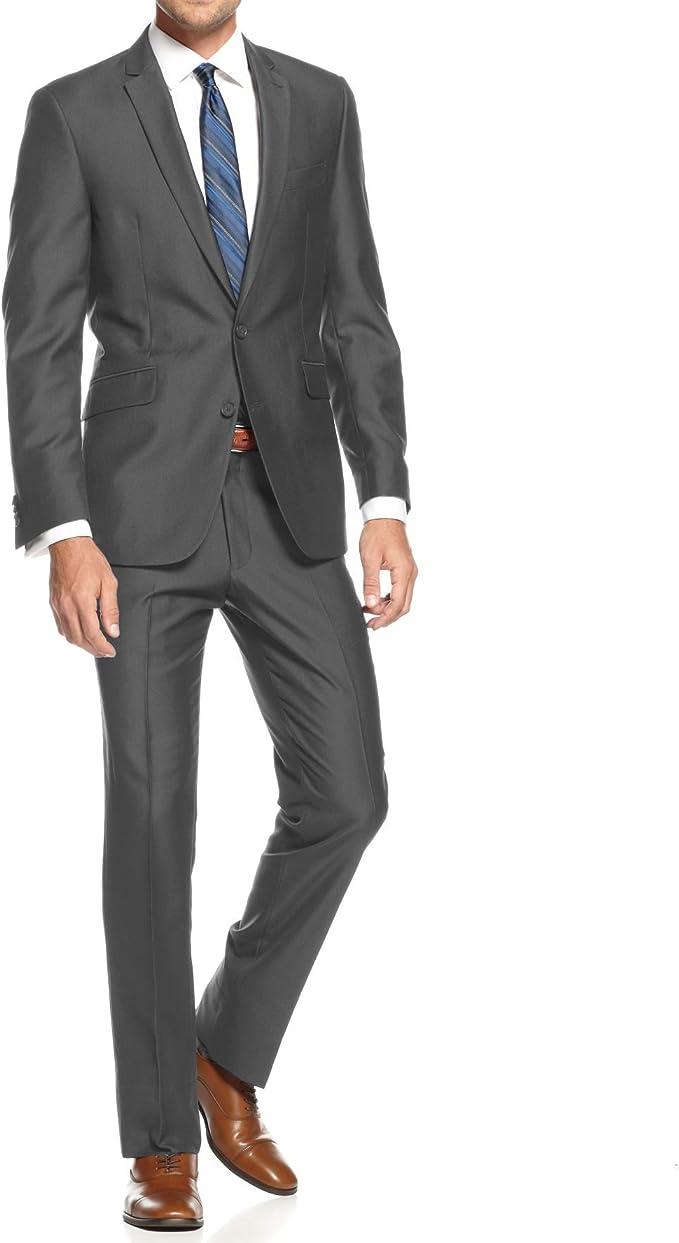 Amazon.com: Braveman Slim Fit - Traje para hombre (2 ...
