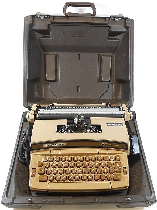 Smith Corona Coronet Super 12 eléctrico portátil Máquina de escribir