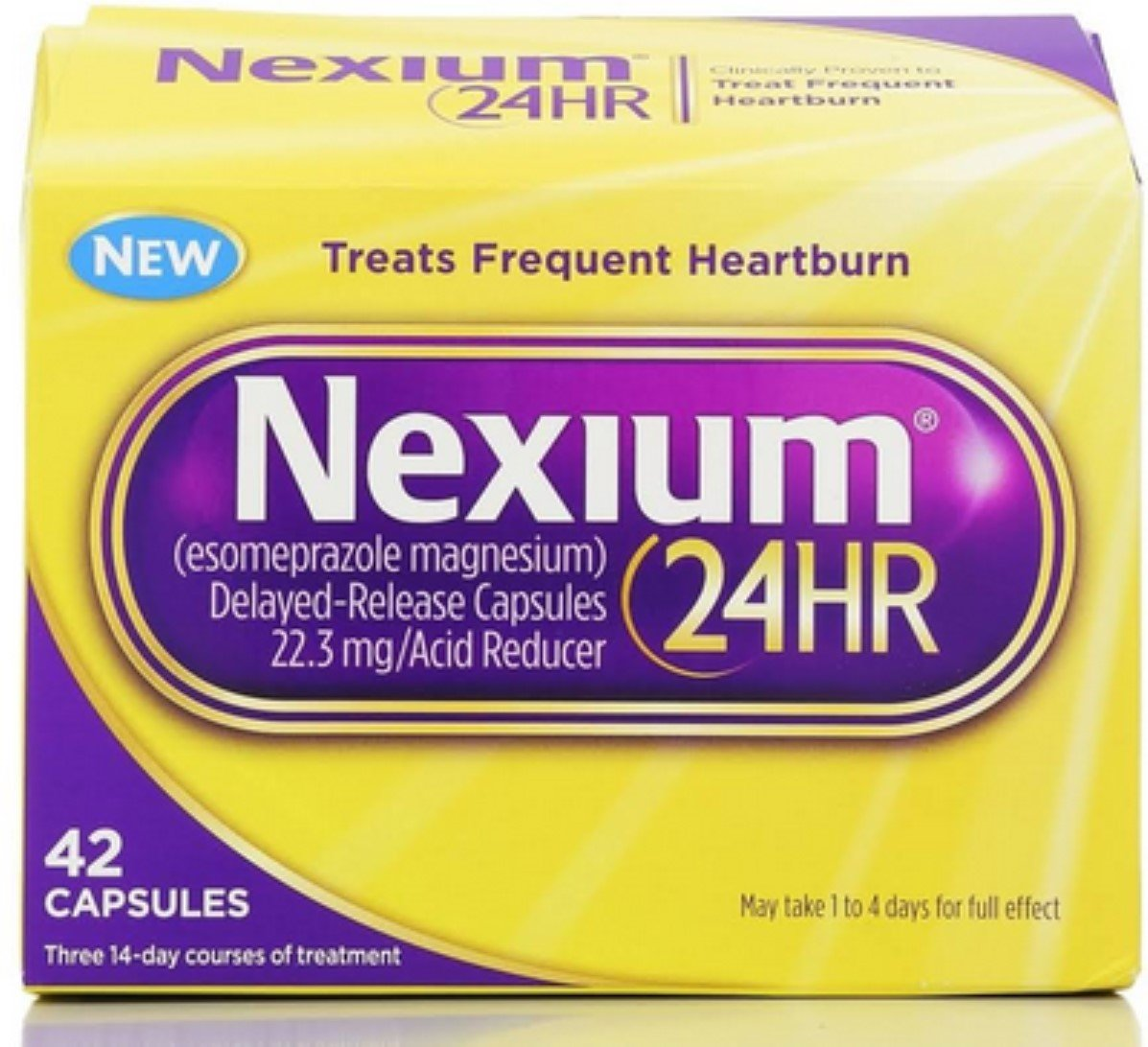 Nexium 24HR Capsules 42 ea (Pack of 6) by Nexium