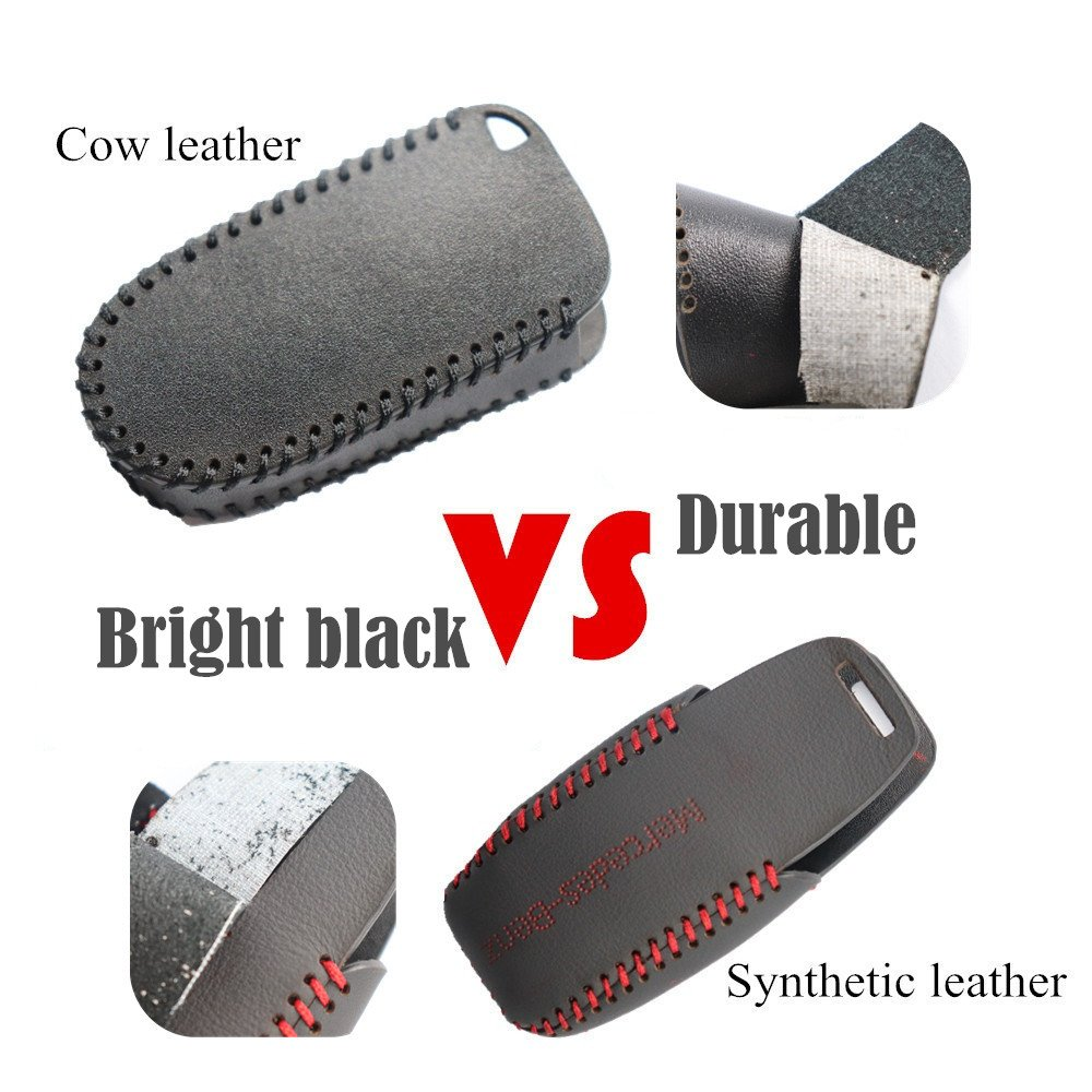 L-TAO Genuine Leather Remote car Key Cases Chains Holder Wallets for BMW Key Case F30 F10 for BMW F30 F20 X3 X4 3 5 4 7 Series Car Key