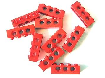 LEGO Bausteine & Bauzubehör 120 rote und schwarze LEGO Technik Lochsteine