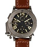 U-Boat Men's 6472 U-42 Chrono 47 mm Black Dial Watch
