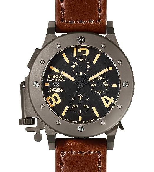 U-Boat 6472 - Reloj, correa de cuero