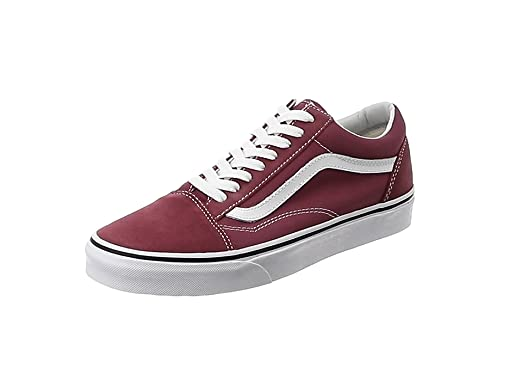 0d7ed0892b5 Amazon.com  Vans Unisex Old Skool Classic Skate Shoes (Dry Rose True ...