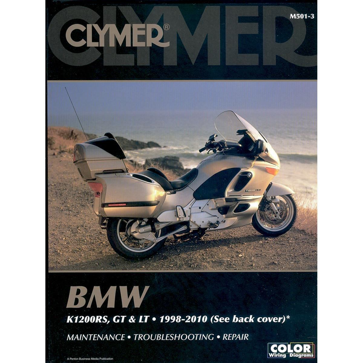 Amazon.com: Clymer BMW K1200RS, K1200GT & K1200LT (1998-2010) (53200):  Automotive