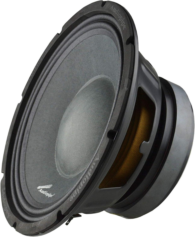 Audiopipe APSP1050 700 Watt Loudest 10 inch Midrange Speakers
