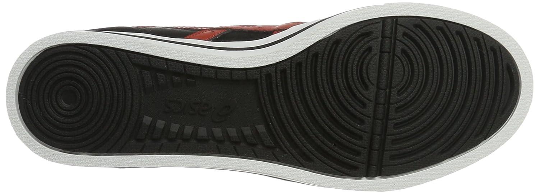 ASICS Herren Aaron Sneaker, Bianco Verschiedene Farben (Black/Tandori Spice)
