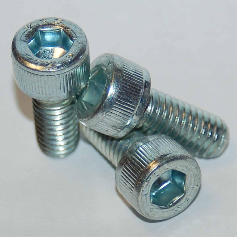 M1.6 X 4MM Socket Head Socket Cap Screw; Stainless Steel; Pack of 10 1.6MM
