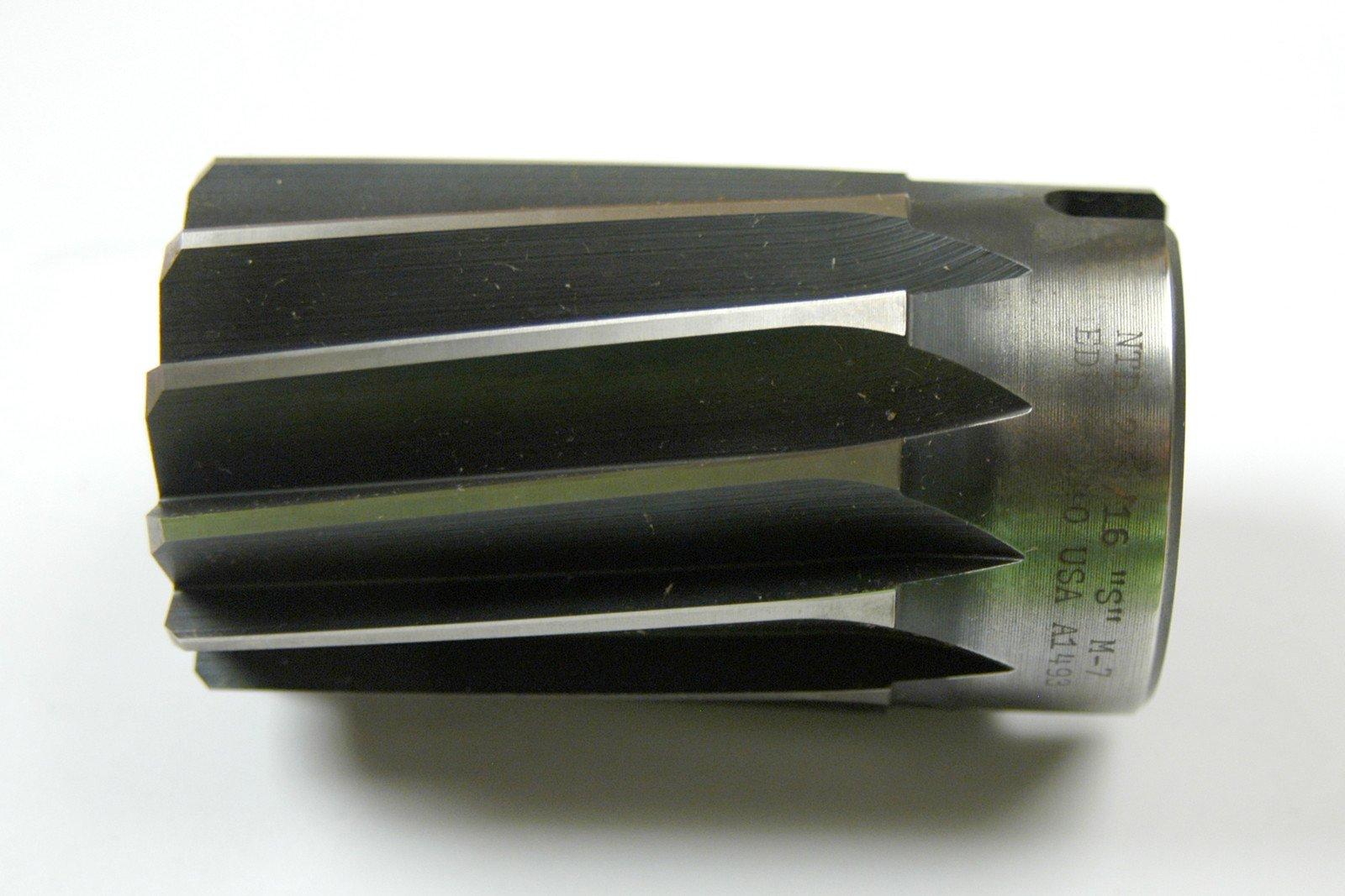 NEW OLD STOCK 2-3/16 DIAMETER 10 FLUTE LHS RHC SHELL REAMER