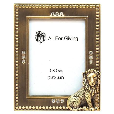 Amazon.com: Todos los para dar Lion Picture Frame, 2.5 por ...