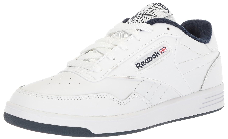 Reebok Men's Club MEMT Walking Shoe 3.5 D(M) US|White/Collegiate Navy