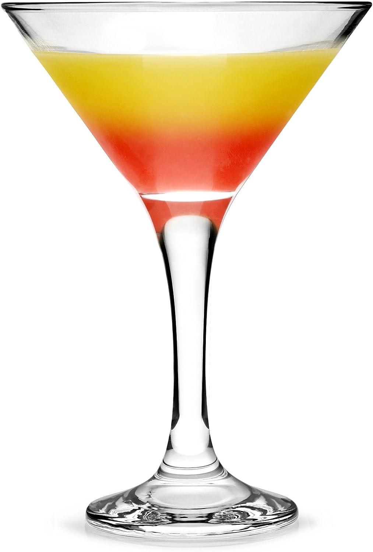 Pasabahce 15-Martini vidrio V-con forma Martini gläse 15er set
