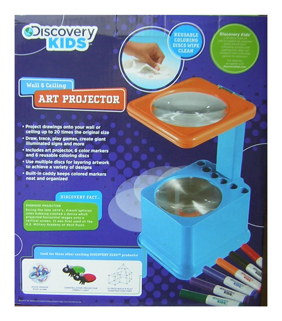 Discovery Kids Wall & Ceiling Art Projector No Size