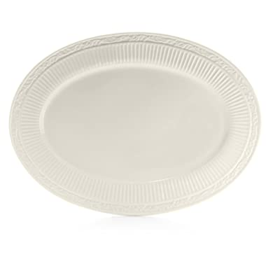 Mikasa Italian Countryside Oval Serving Platter, 18-Inch