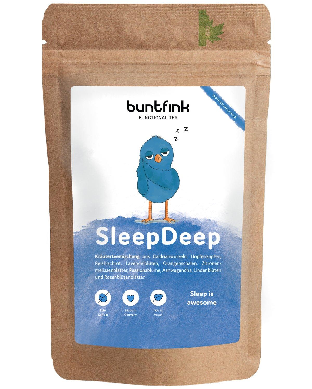 SleepDeep Abendtee, Einschlaf- und Durchschlaftee