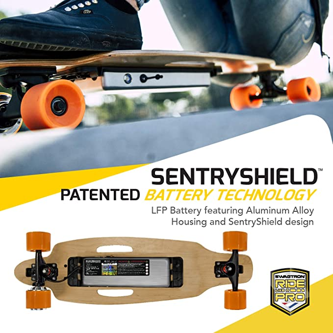 Amazon.com: Patineta Swagtron SwagBoard NG-1 Electric ...