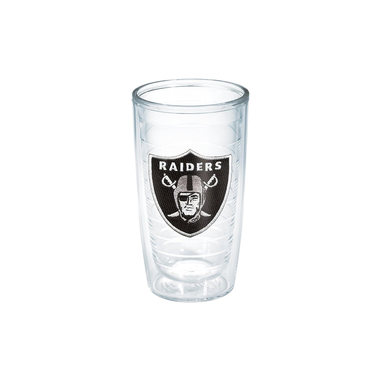 Tervis NFL Oakland Raiders Individual Emblem Tumbler 16 oz Clear
