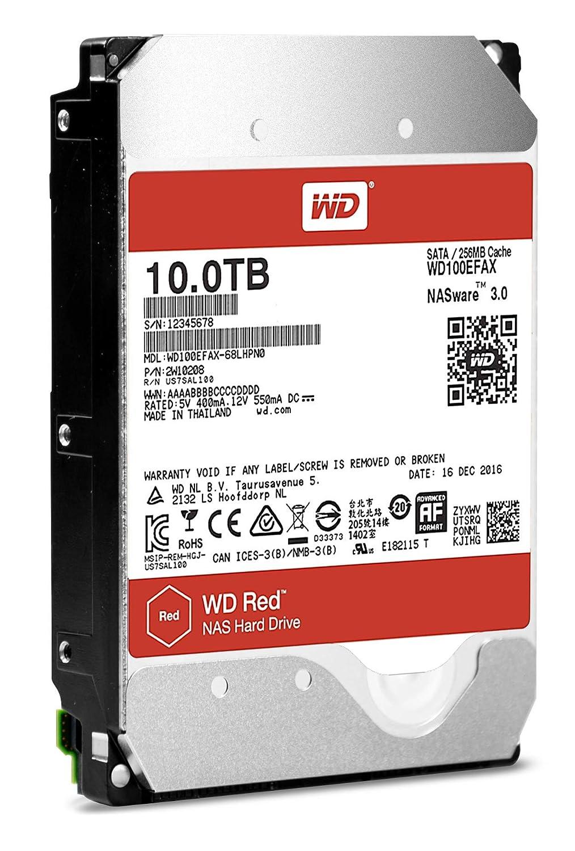 WD WD100EFAX HDD Interno da 10 TB